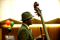 Bass player for the Danny Armstrong Ensemble