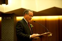 Superior Court Judge, Gordon Baranco, presents the keynote address