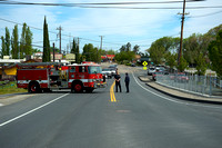 East Contra Costa County Fire District temporarily halted traffice