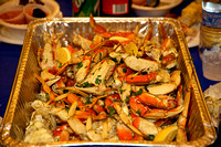 Succulent crab seasoned by Joe Canciamilla
