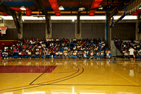 A part of the large crowd of youth gathered in the gymnasium at Los Medanos College, Pittsburg
